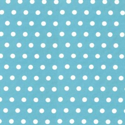 Lief stippel blauw wit