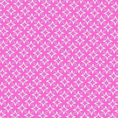 Roze ster retro